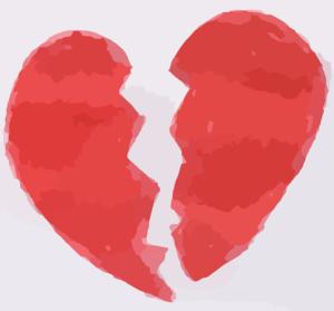 שברון לב מאהבה