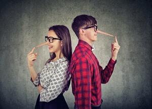 שקרים בזוגיות